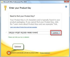 product key office 2010 professional plus free