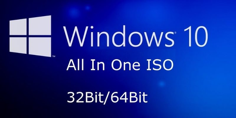 Windows 10 All in One ISO 32-Bit 64-Bit With Activation Key