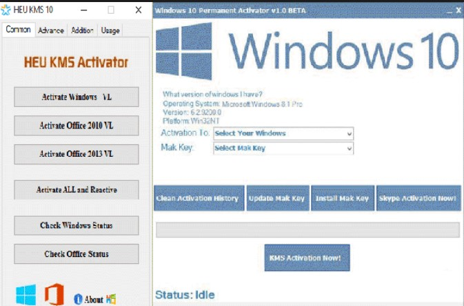 ms office 2013 permanent activation key