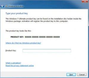 Windows 7 Product Key 32/64 bit (100% Working)
