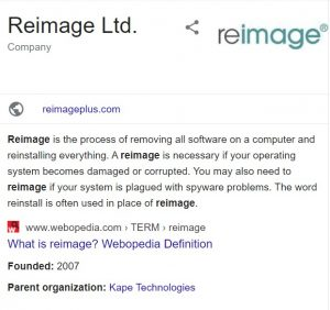 Reimage PC Repair 2020 Crack + License Key (Keygen) Download